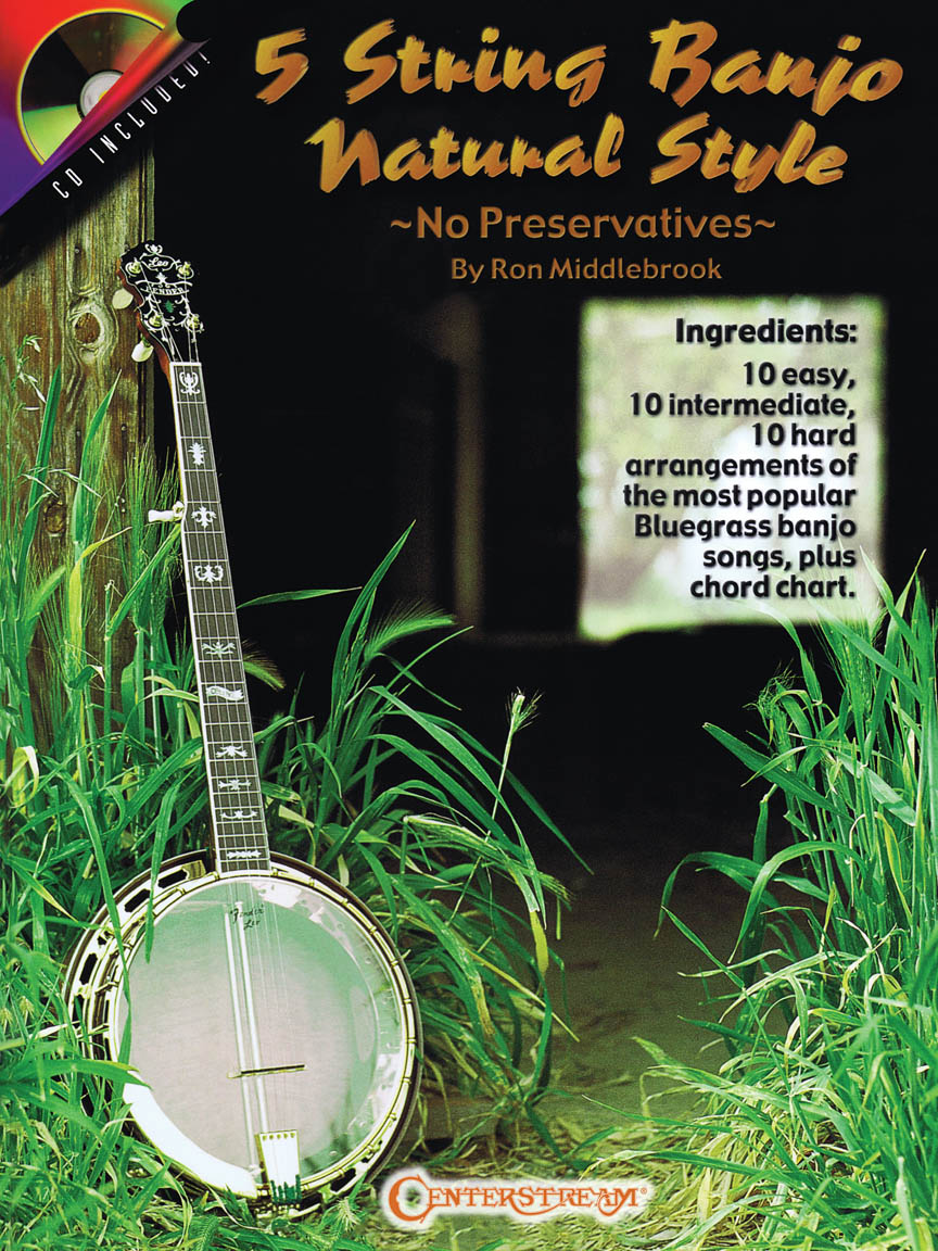Product Cover for 5 String Banjo Natural Style