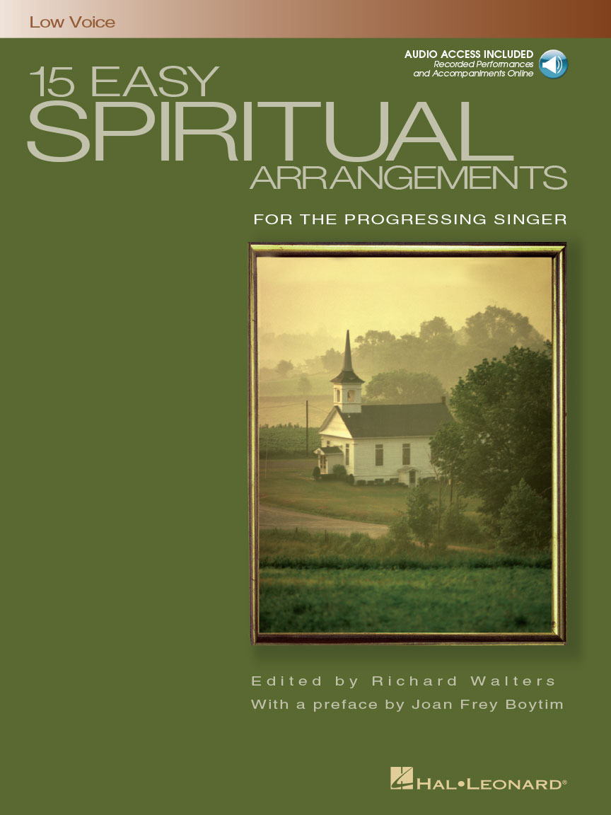 Product Cover for 15 Easy Spiritual Arrangements for the Progressing Singer