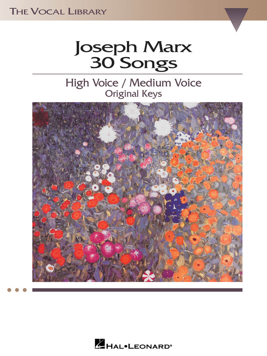 Product Cover for Joseph Marx – 30 Songs