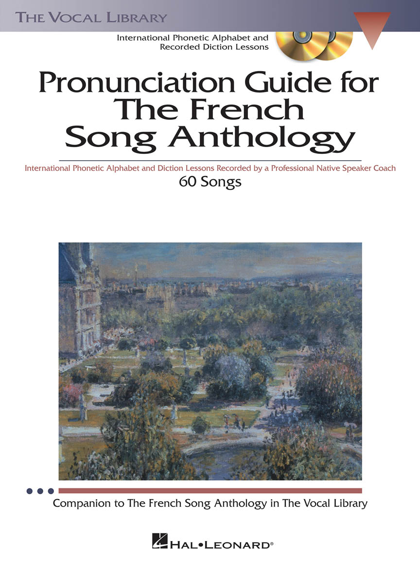 Product Cover for The French Song Anthology – Pronunciation Guide