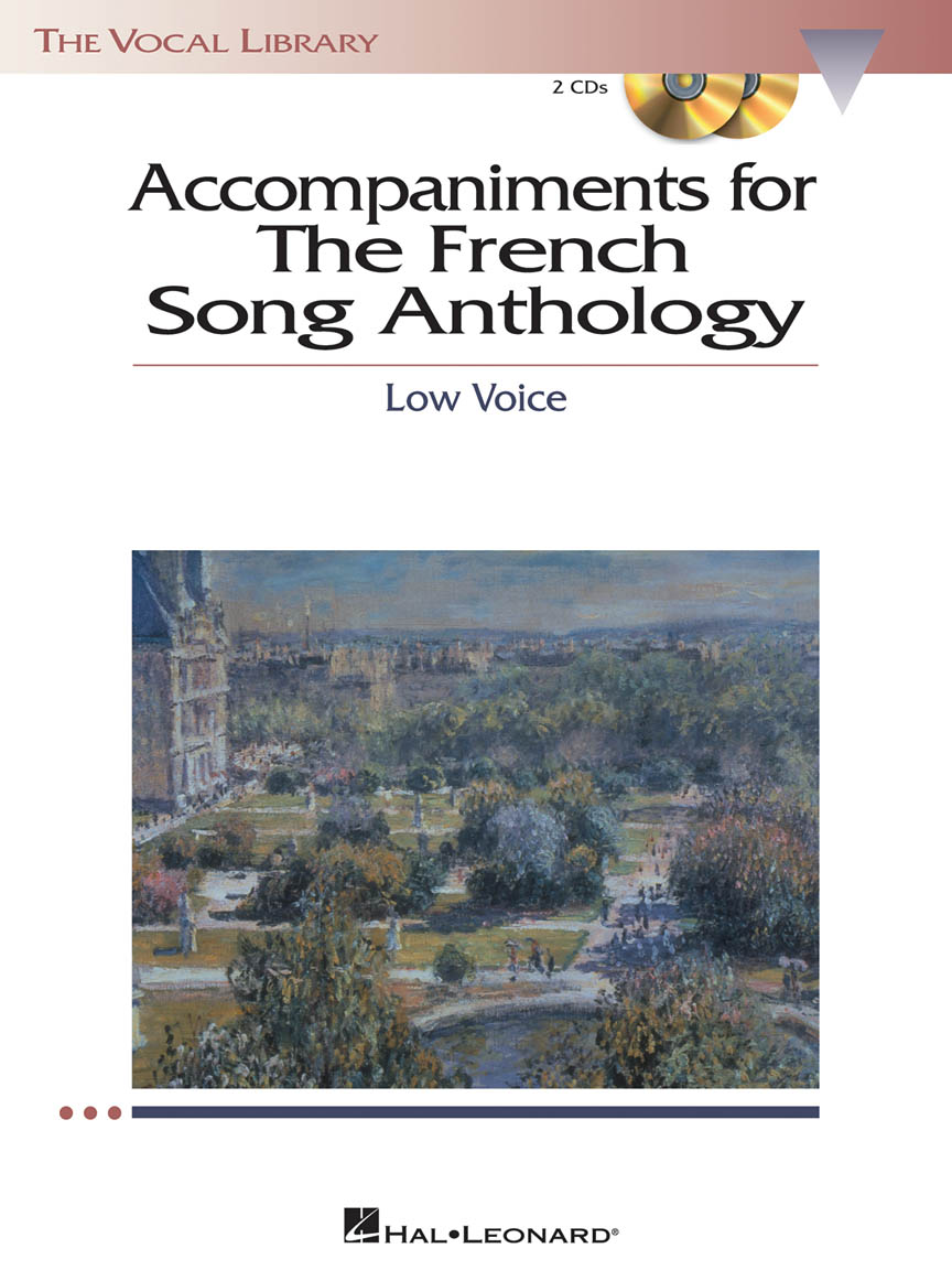 Product Cover for The French Song Anthology – Accompaniment CDs