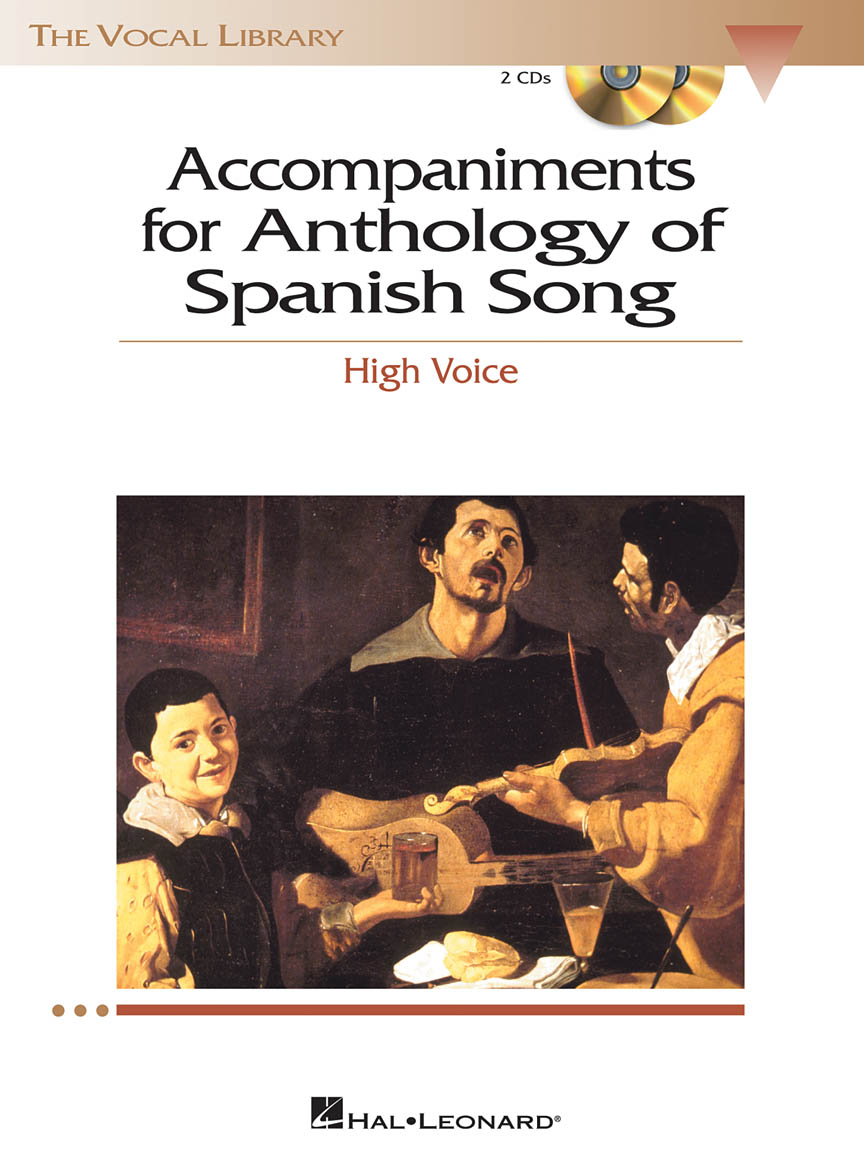 Product Cover for Anthology of Spanish Song Accompaniment CDs
