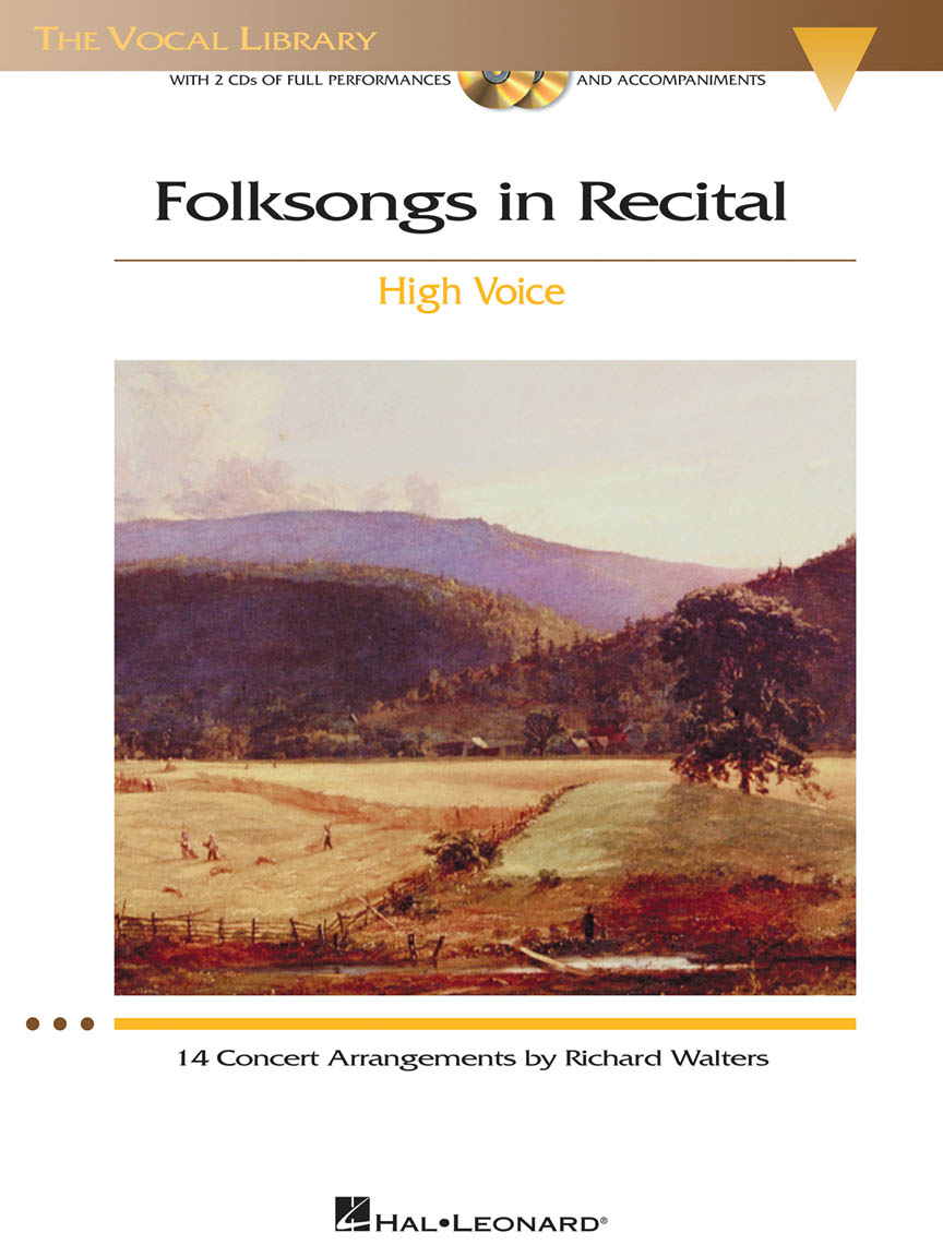 Product Cover for Folksongs in Recital – 14 Concert Arrangements