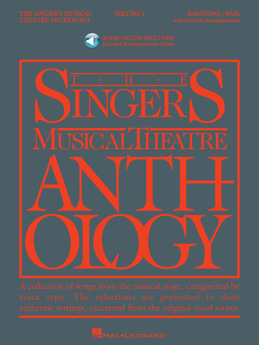 Product Cover for Singer's Musical Theatre Anthology – Volume 1