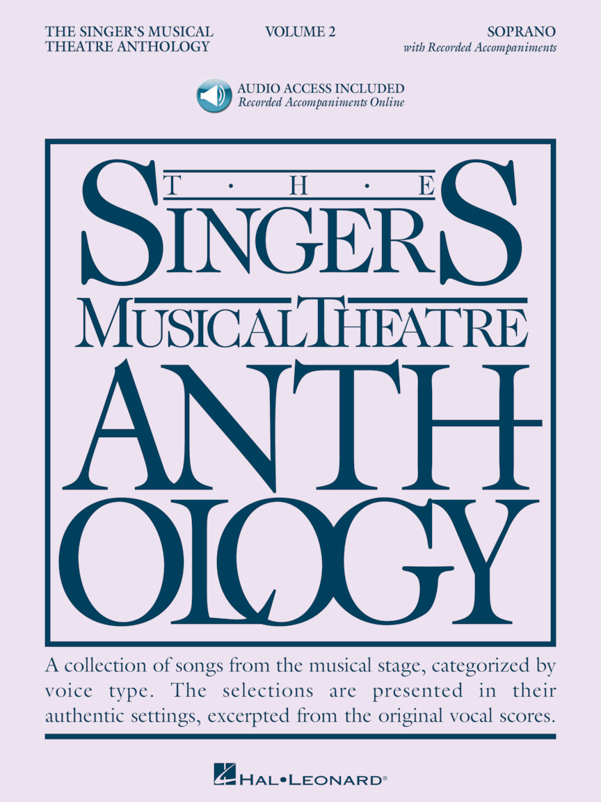 Product Cover for Singer's Musical Theatre Anthology – Volume 2