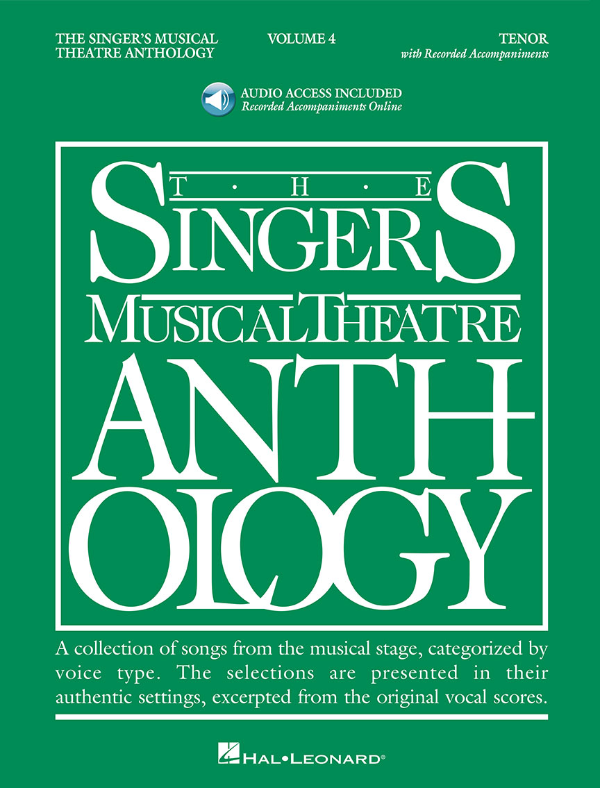 Product Cover for The Singer's Musical Theatre Anthology: Tenor, Volume 4