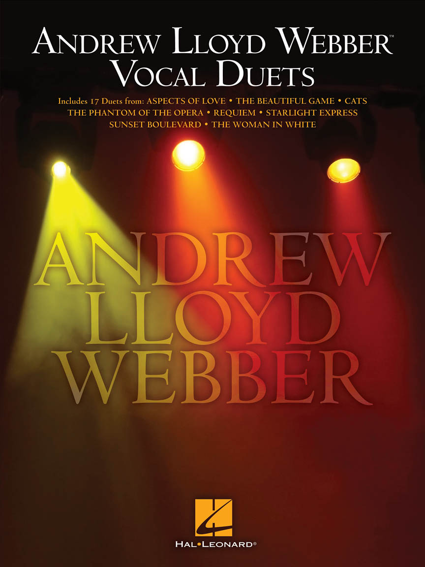 Product Cover for Andrew Lloyd Webber Vocal Duets