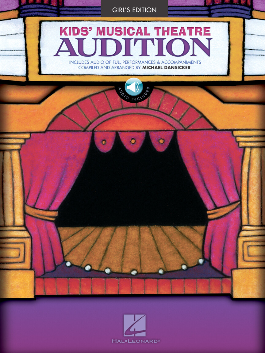 Product Cover for Kids' Musical Theatre Audition – Girls Edition