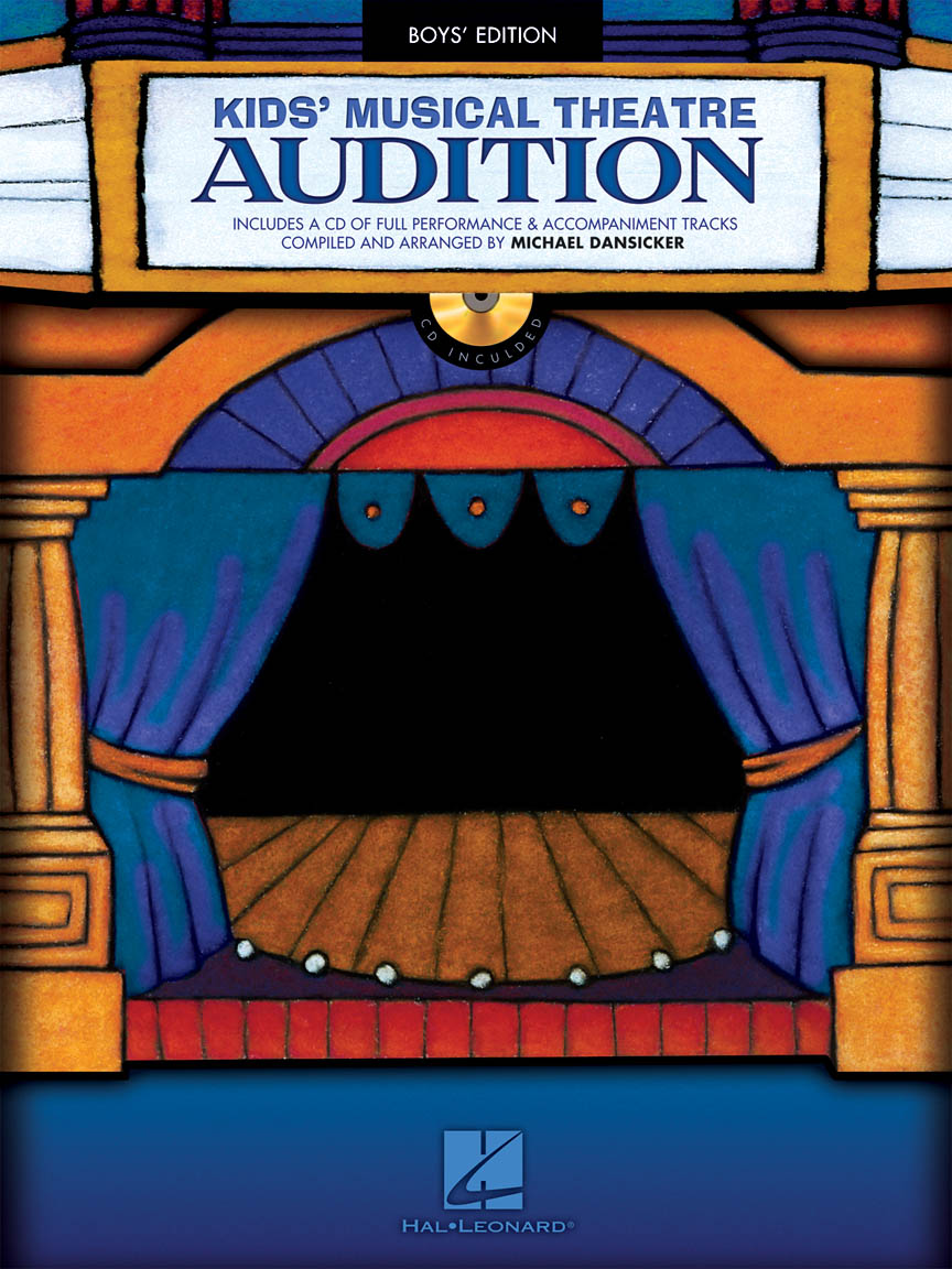 Product Cover for Kids' Musical Theatre Audition – Boys Edition