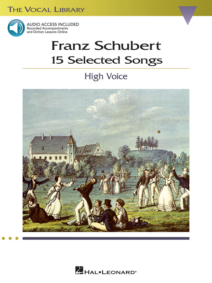 Product Cover for Franz Schubert – 15 Selected Songs (High Voice)