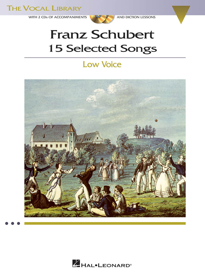 Product Cover for Franz Schubert – 15 Selected Songs (Low Voice)