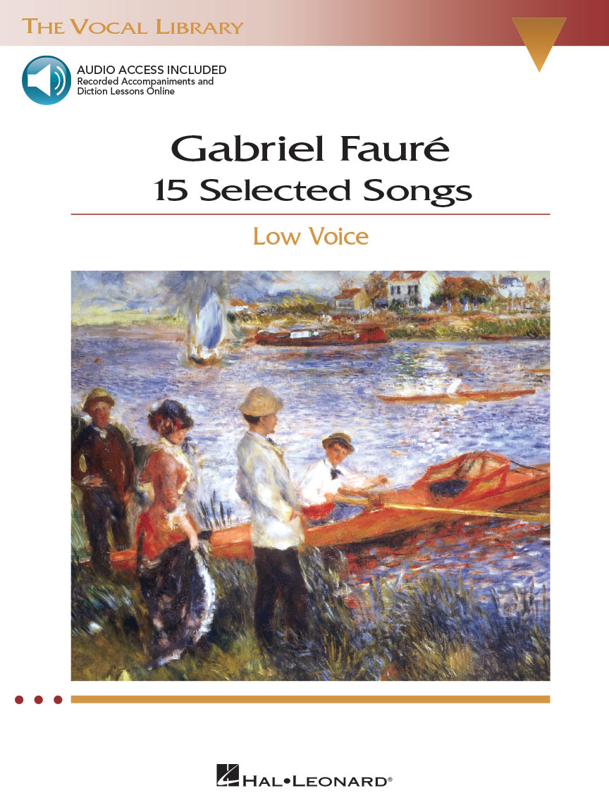 Product Cover for Gabriel Fauré: 15 Selected Songs