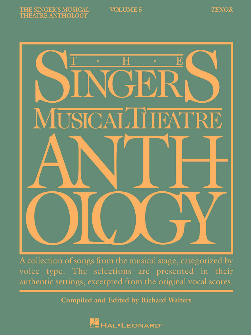 Product Cover for Singer's Musical Theatre Anthology – Volume 5