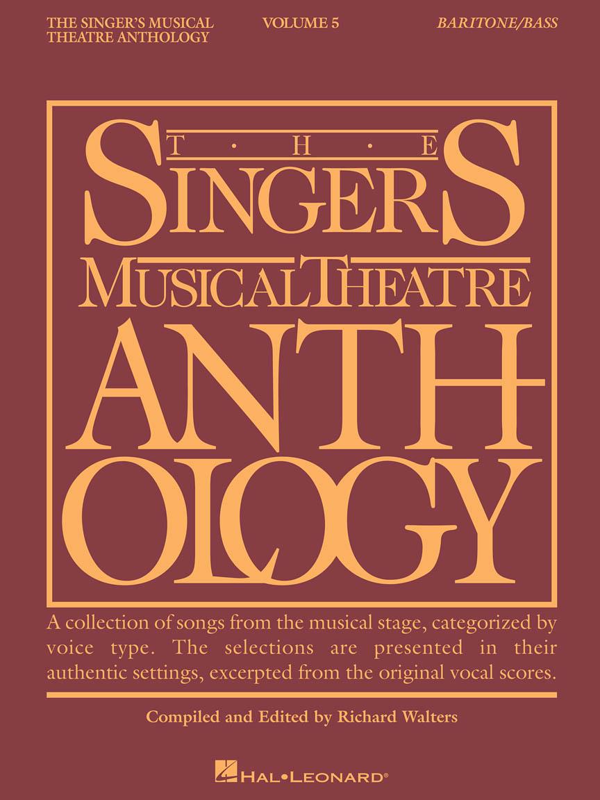 Singer's Musical Theatre Anthology – Volume 5 - Baritone