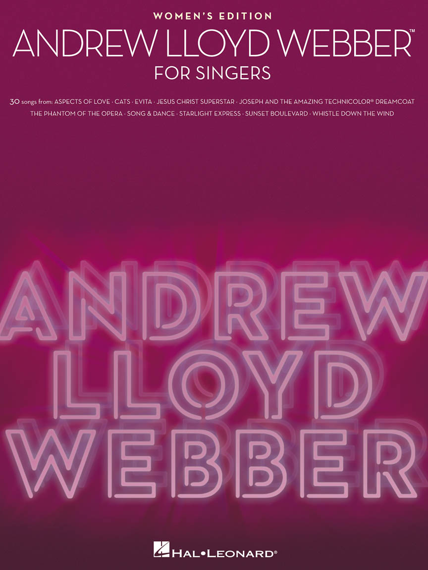 Product Cover for Andrew Lloyd Webber for Singers