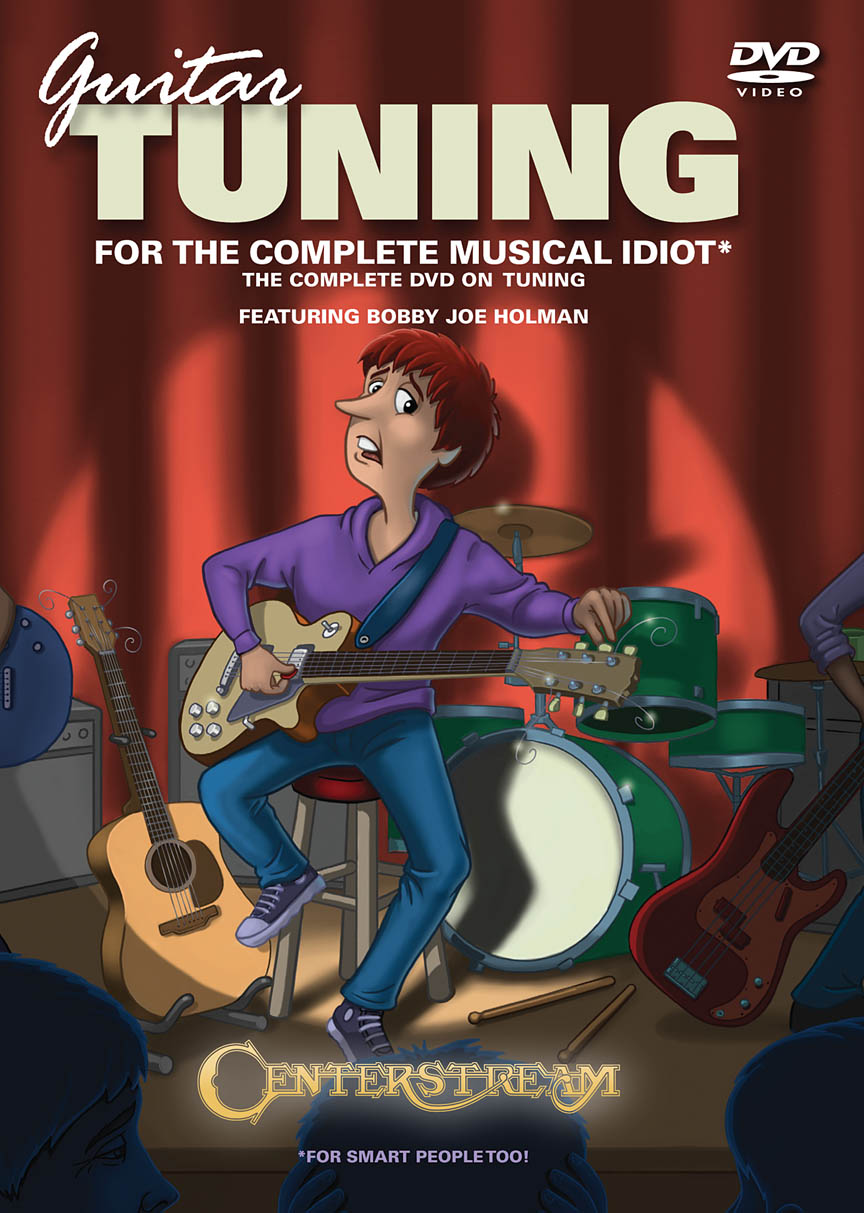 Product Cover for Guitar Tuning for the Complete Musical Idiot