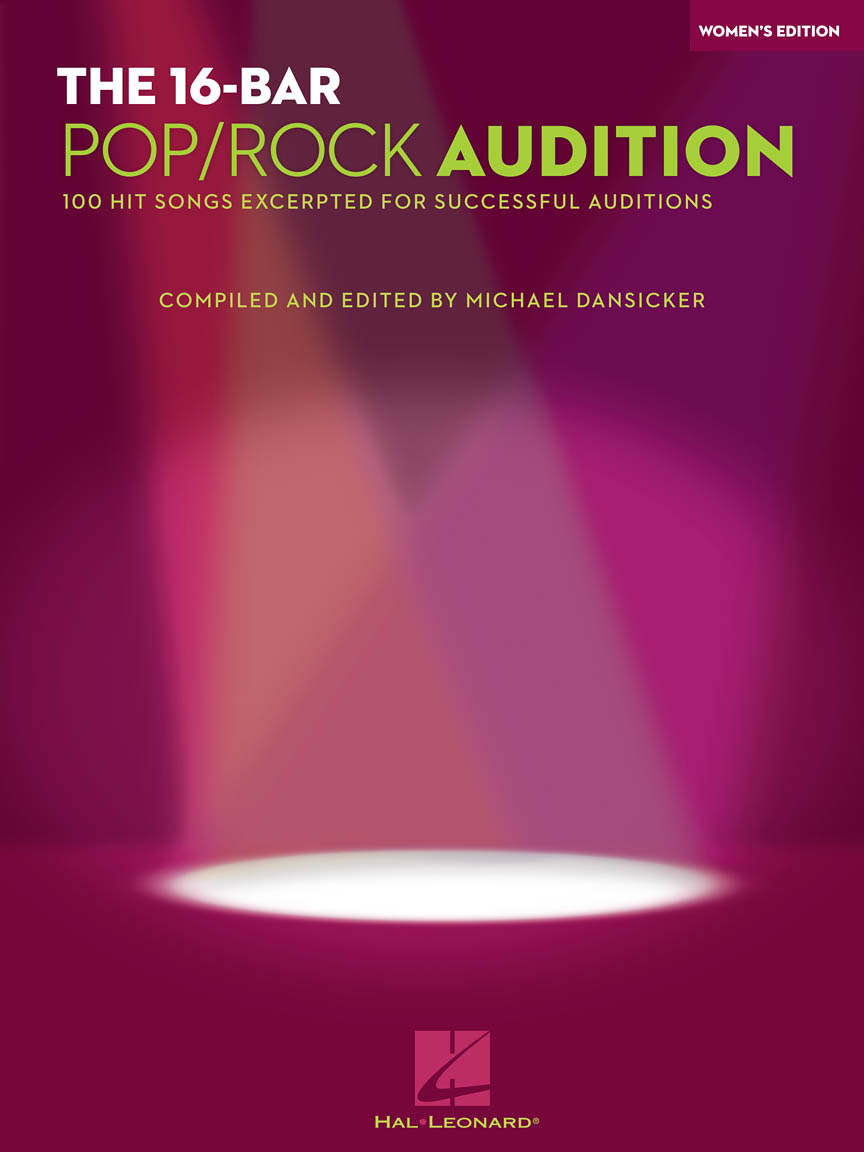 The 16-Bar Pop/Rock Audition - 100 Hit Songs Excerpted for