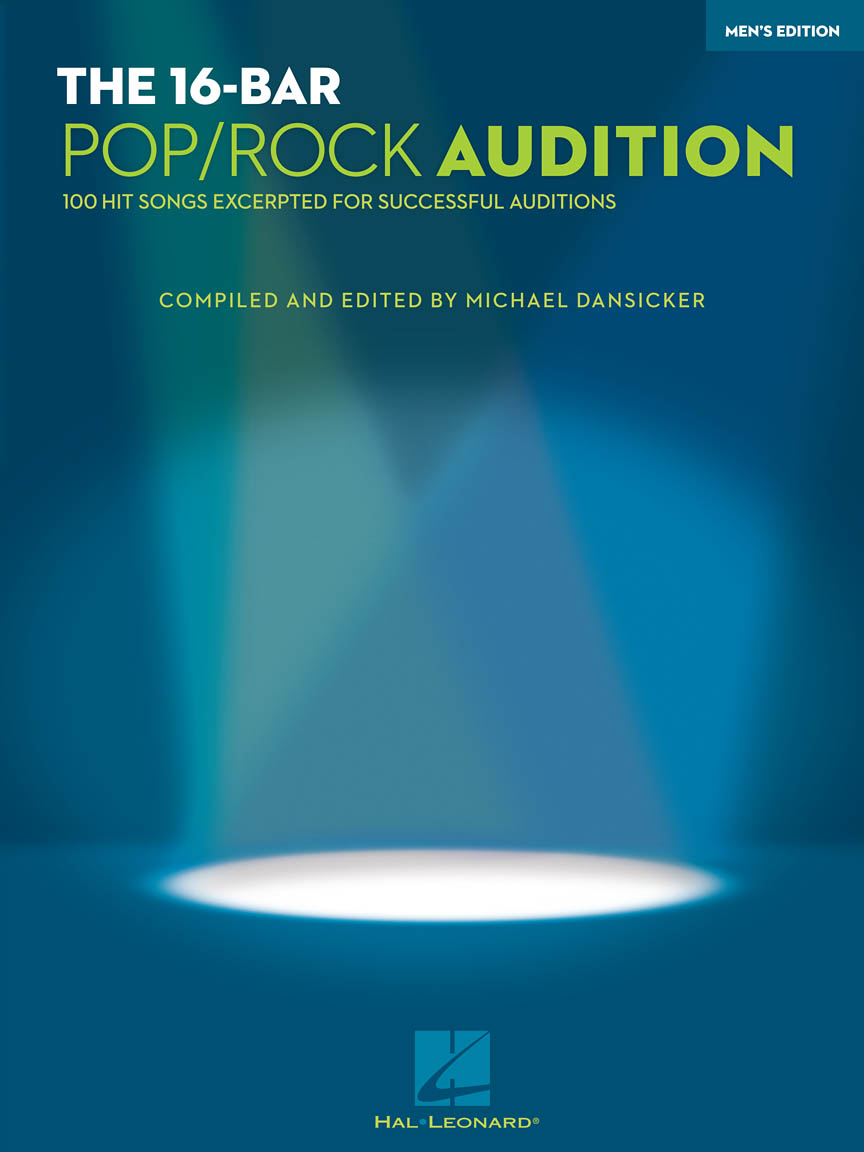 Product Cover for The 16-Bar Pop/Rock Audition