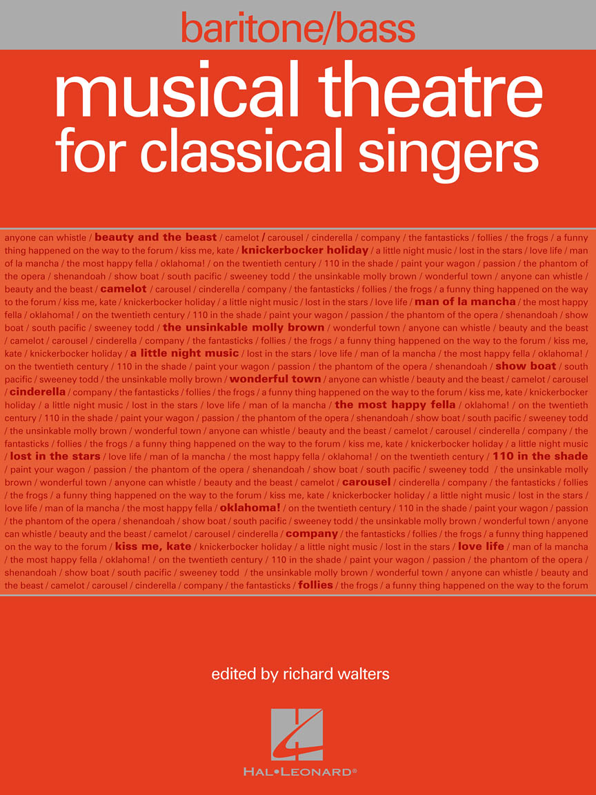 Musical Theatre for Classical Singers - Baritone/Bass, 47