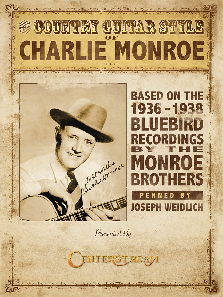 Product Cover for The Country Guitar Style of Charlie Monroe