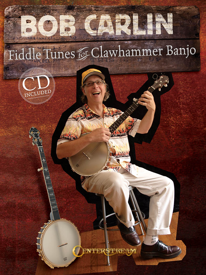 Product Cover for Bob Carlin – Fiddle Tunes for Clawhammer Banjo