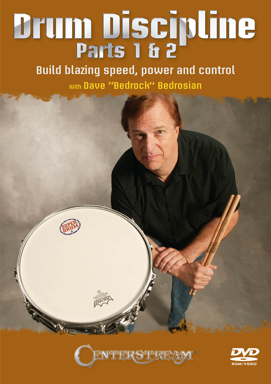 Product Cover for Drum Discipline, Parts 1 & 2