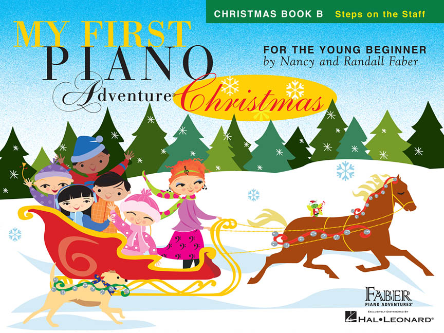 Product Cover for My First Piano Adventure® Christmas – Book B