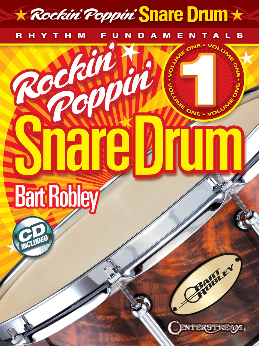 Product Cover for Rockin' Poppin' Snare Drum, Vol. 1