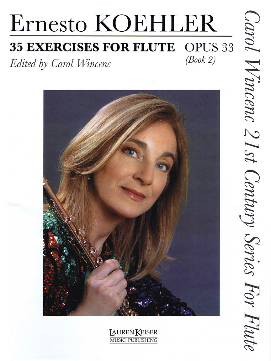 Product Cover for 35 Exercises for Flute, Op. 33