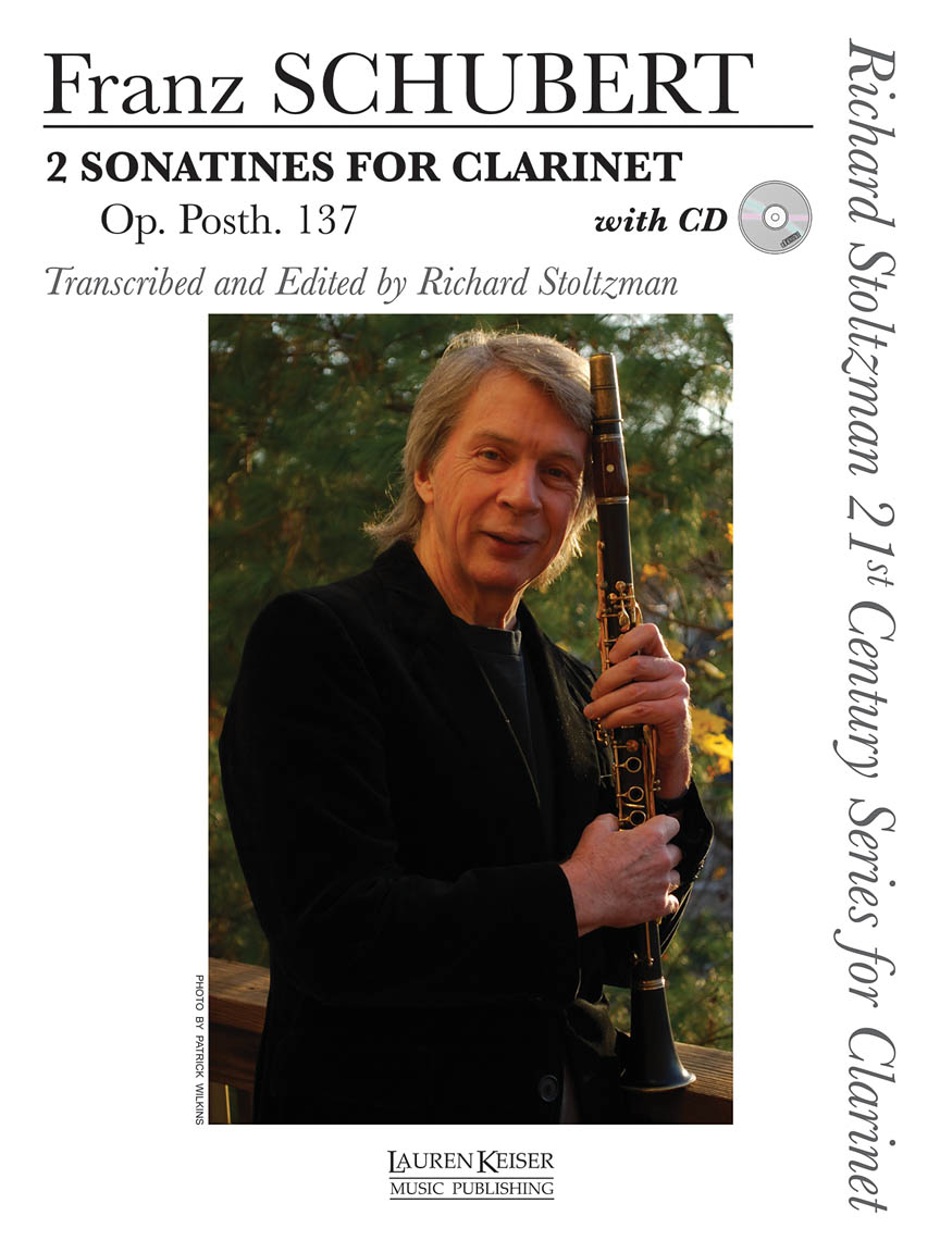 Product Cover for 2 Sonatines for Clarinet, Op. post. 137