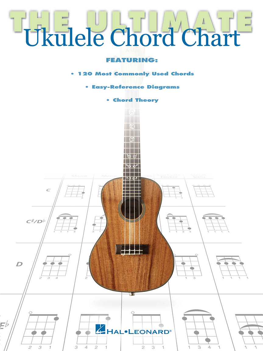 Product Cover for The Ultimate Ukulele Chord Chart