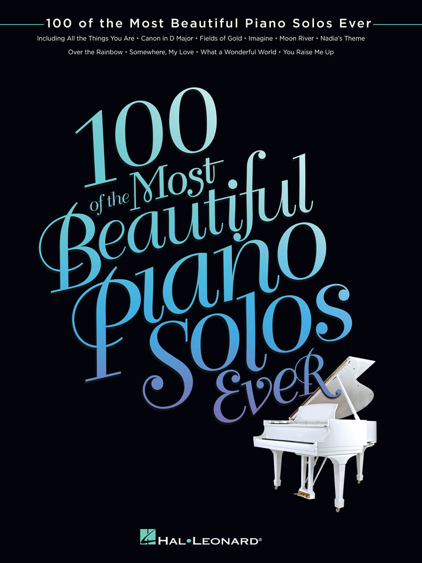 Product Cover for 100 of the Most Beautiful Piano Solos Ever