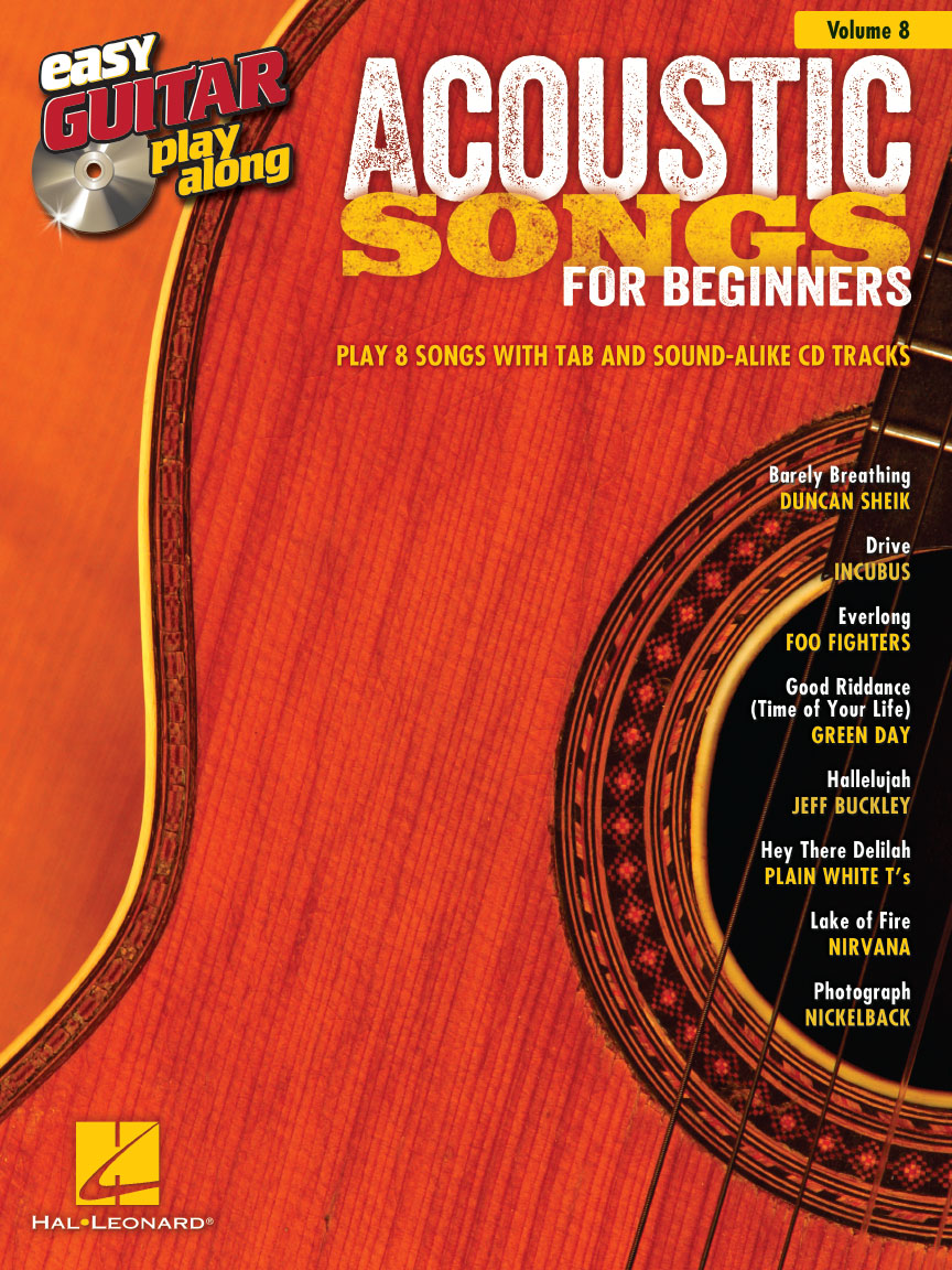 Product Cover for Acoustic Songs for Beginners