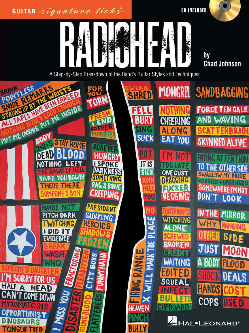 Product Cover for Radiohead – Guitar Signature Licks