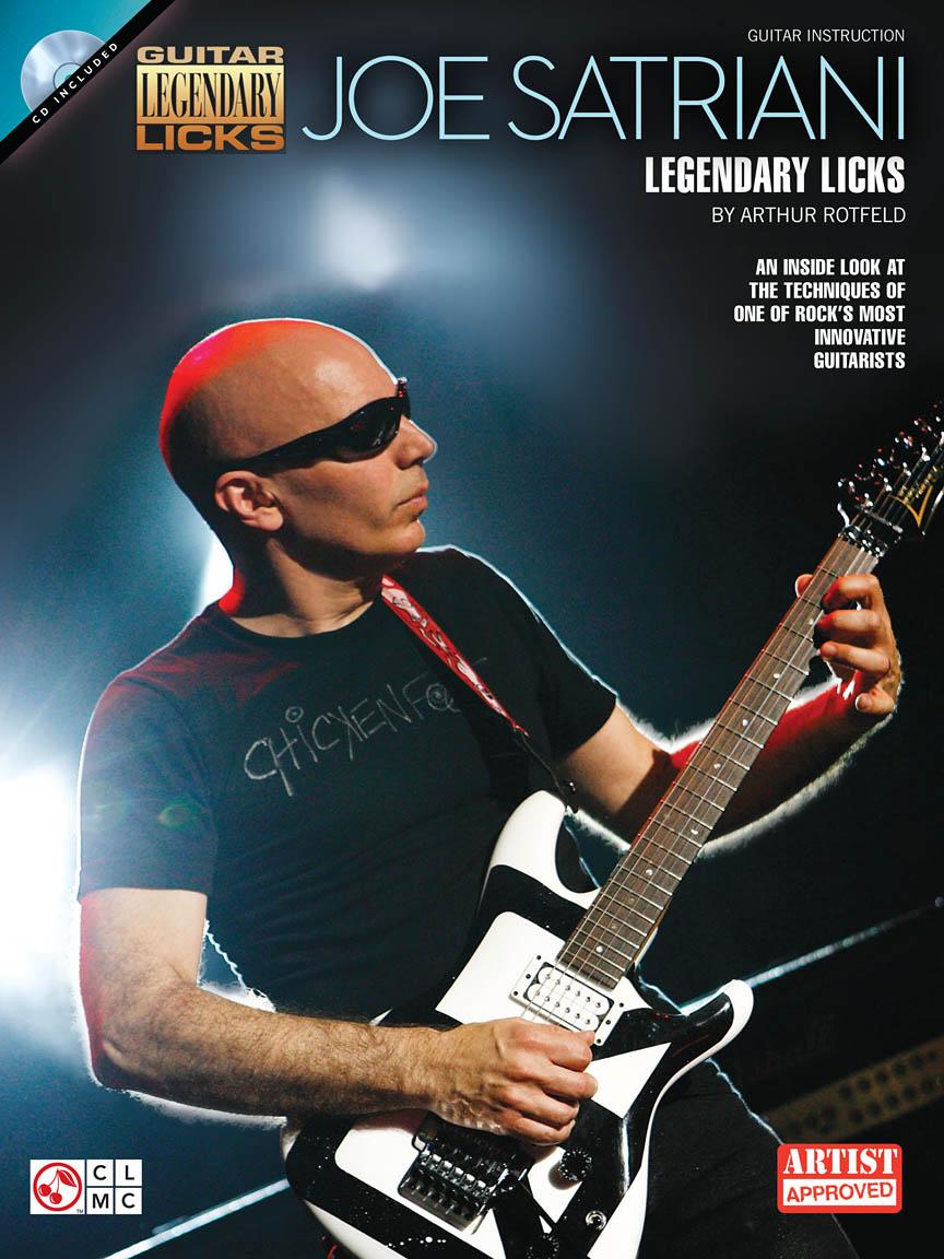Product Cover for Joe Satriani – Legendary Licks