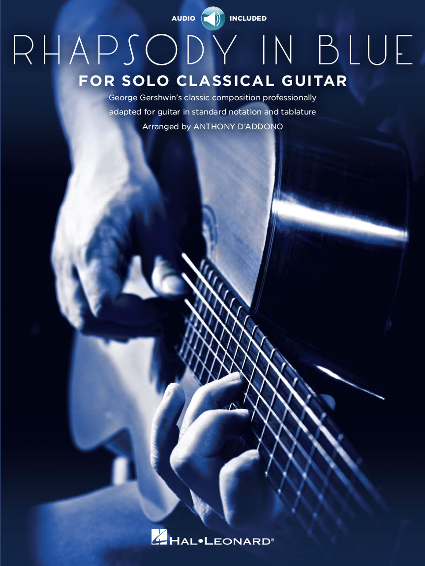 Product Cover for Rhapsody in Blue for Solo Classical Guitar