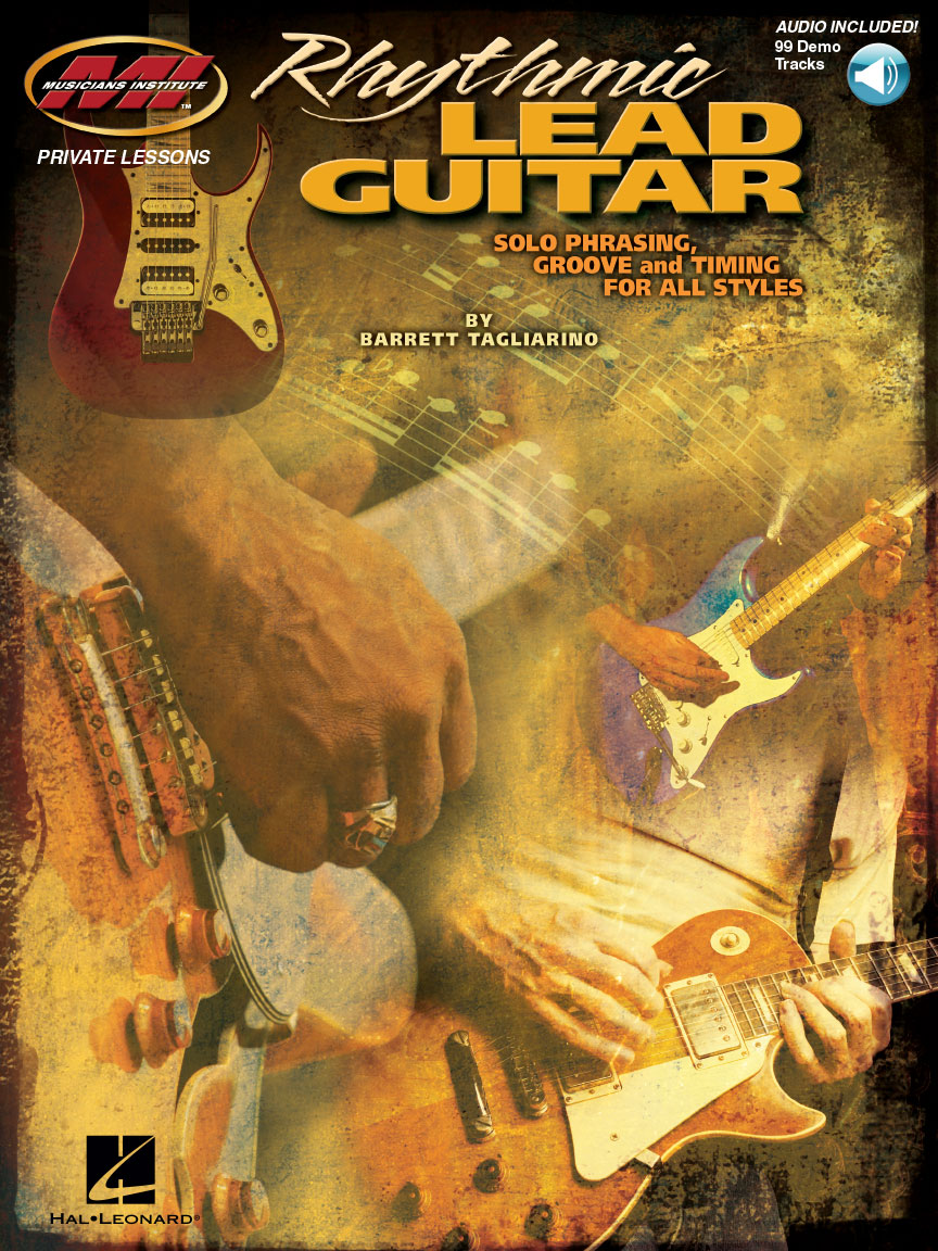Product Cover for Rhythmic Lead Guitar – Solo Phrasing, Groove and Timing for All Styles