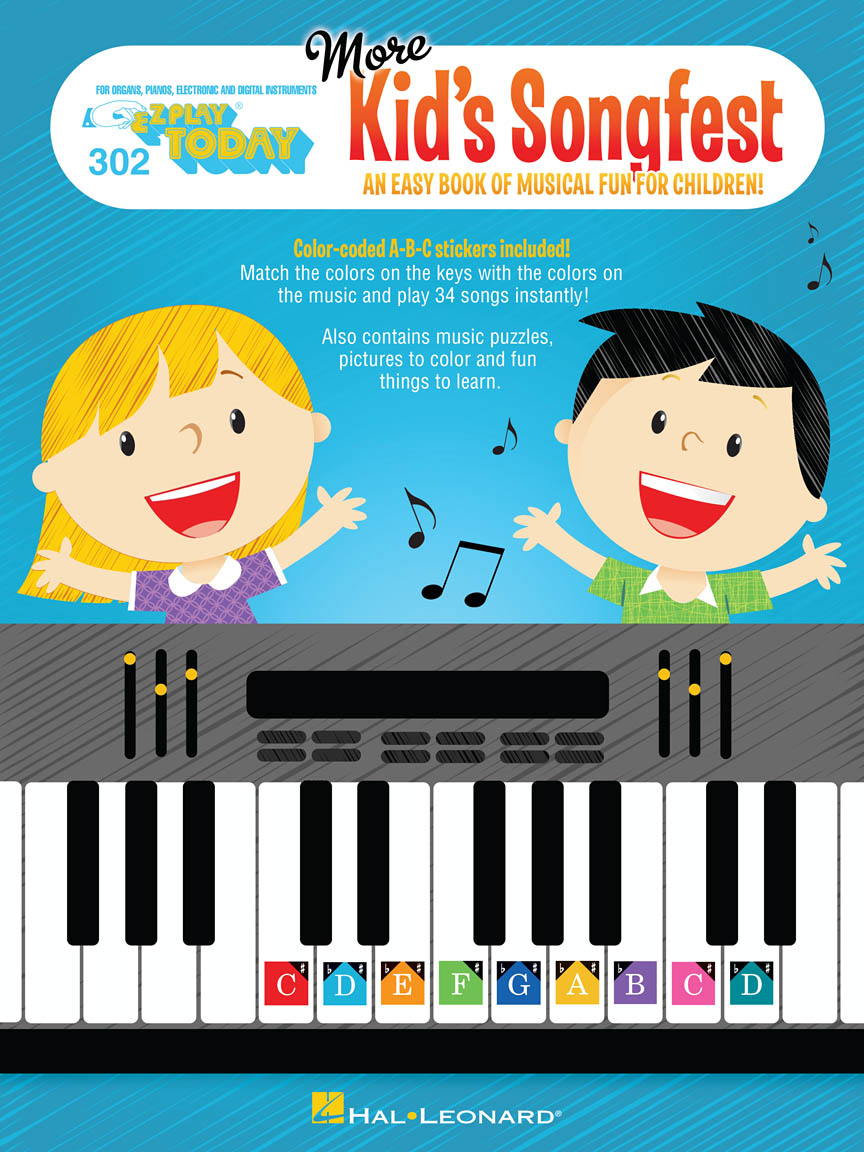 Product Cover for More Kid's Songfest