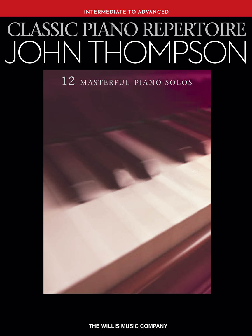 Product Cover for Classic Piano Repertoire – John Thompson