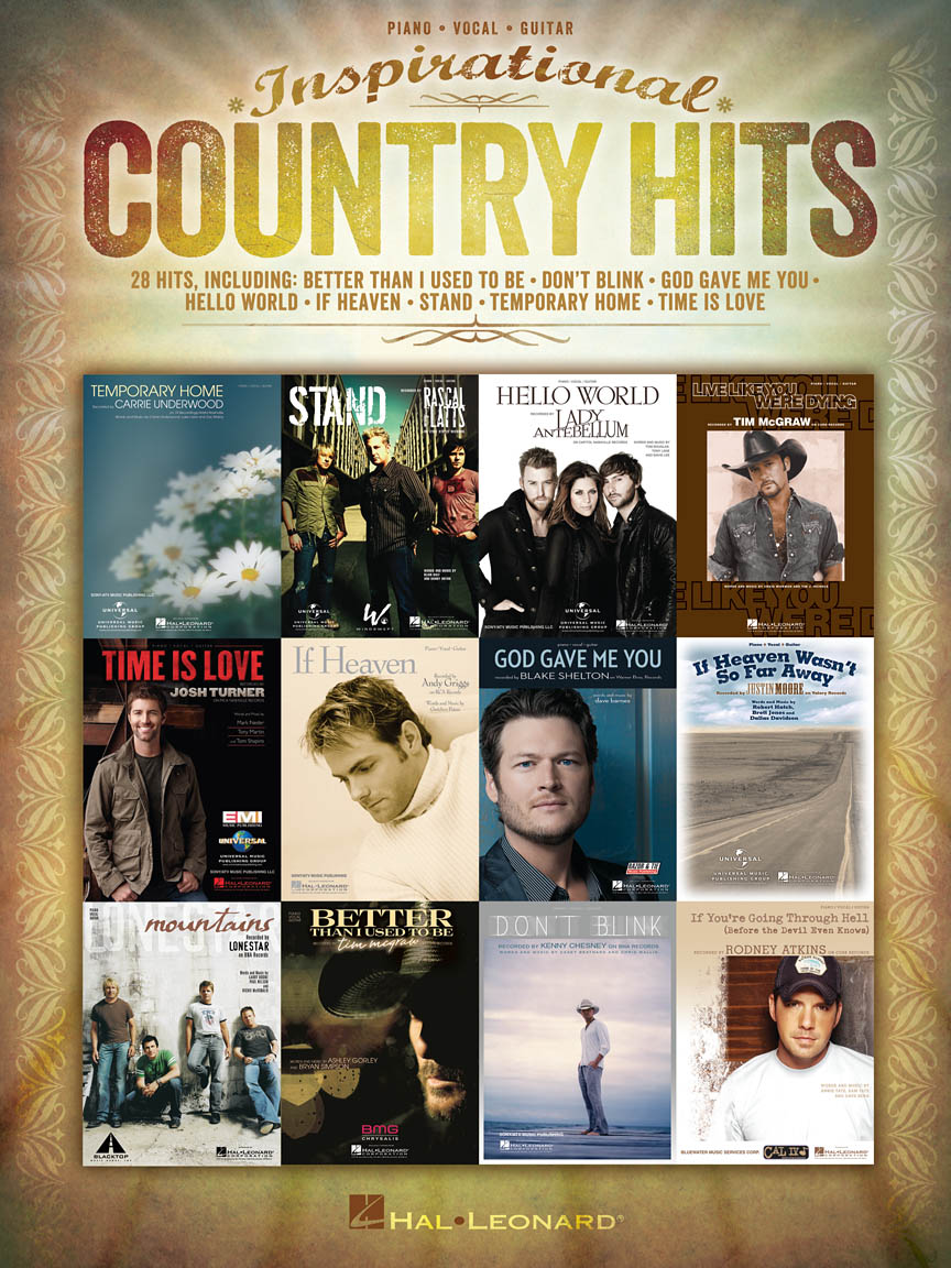 Product Cover for Inspirational Country Hits