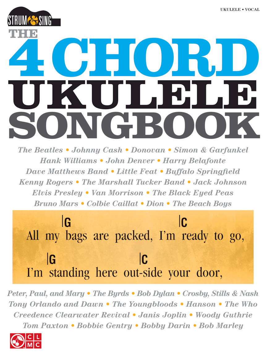 Product Cover for The 4-Chord Ukulele Songbook
