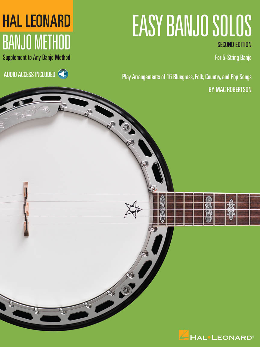 Product Cover for Easy Banjo Solos for 5-String Banjo – Second Edition