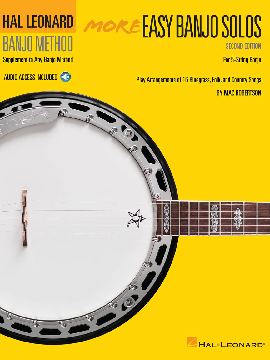 Product Cover for More Easy Banjo Solos – 2nd Edition