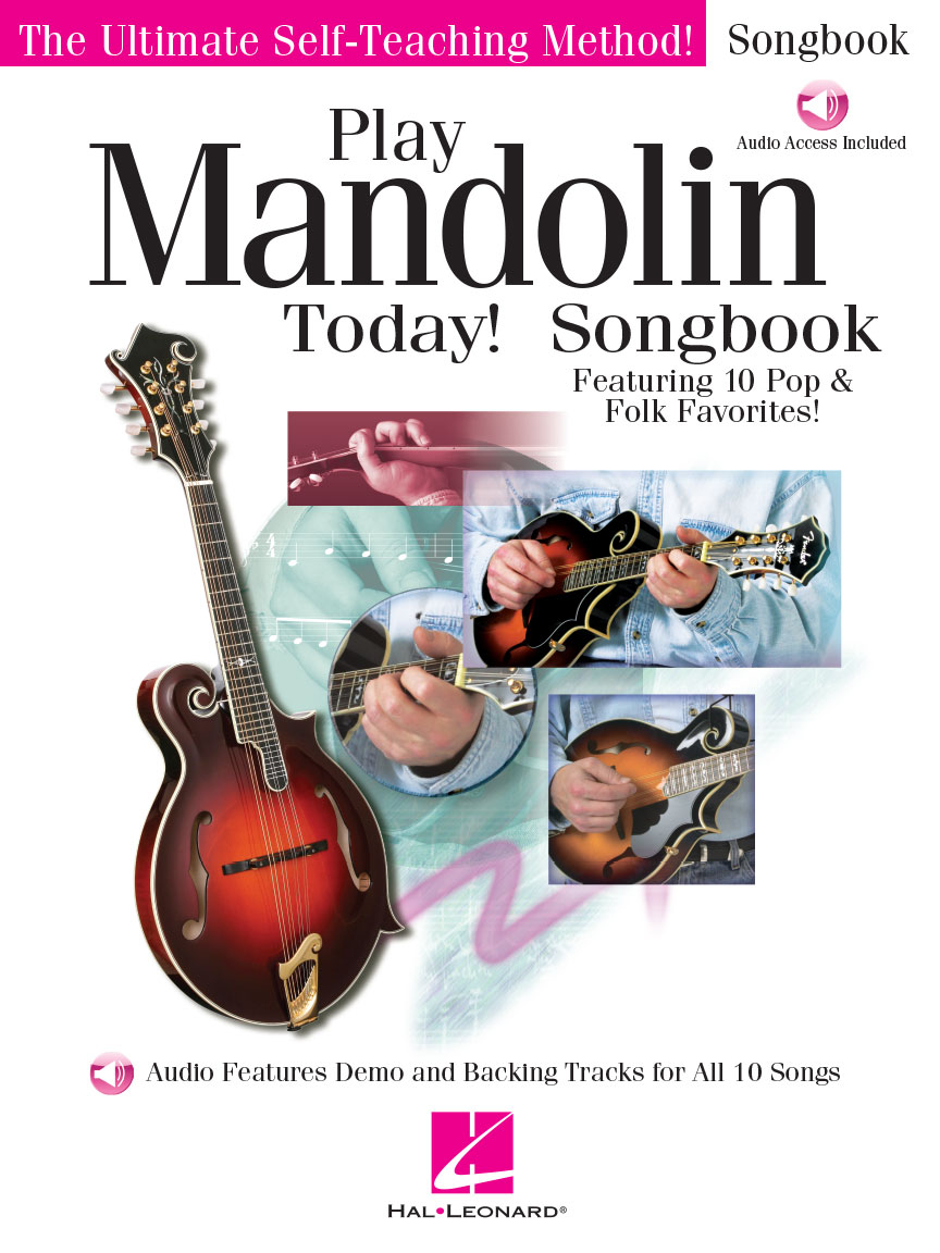 Product Cover for Play Mandolin Today! Songbook