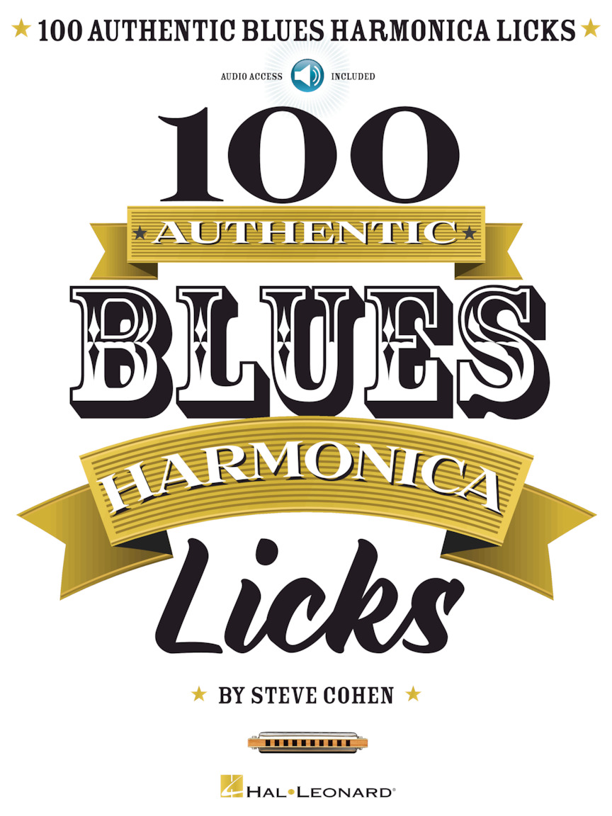 Product Cover for 100 Authentic Blues Harmonica Licks
