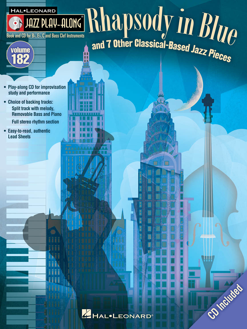 """Product Cover for """"Rhapsody in Blue"""" & 7 Other Classical-Based Jazz Pieces"""