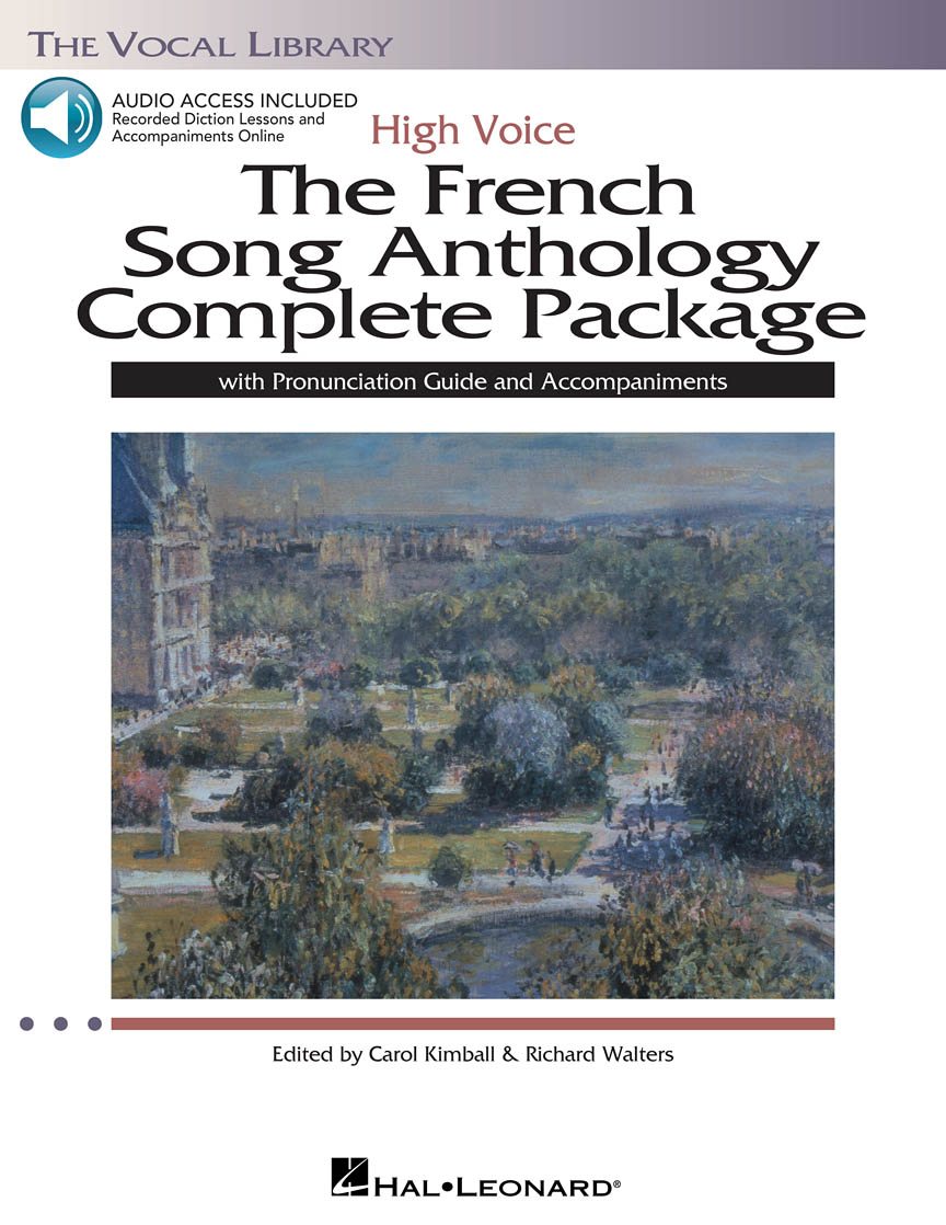 The French Song Anthology Complete Package – High Voice