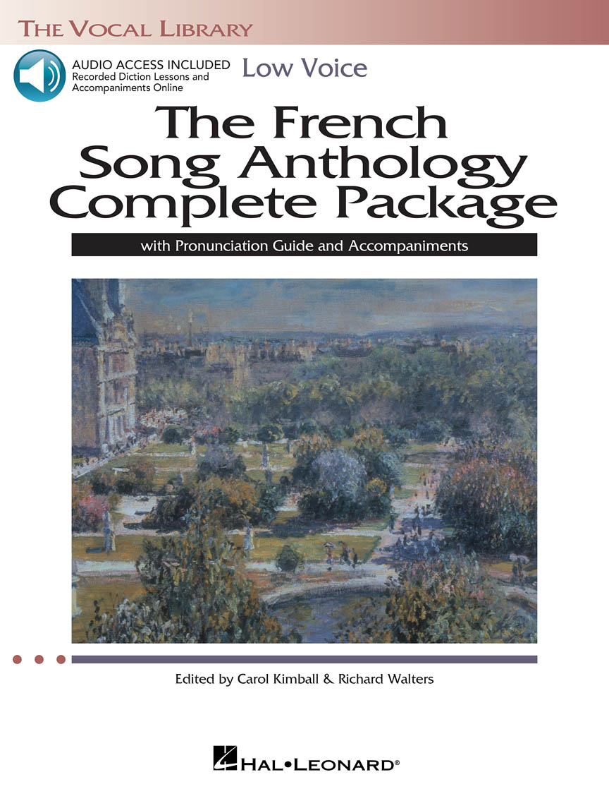 Product Cover for The French Song Anthology Complete Package – Low Voice