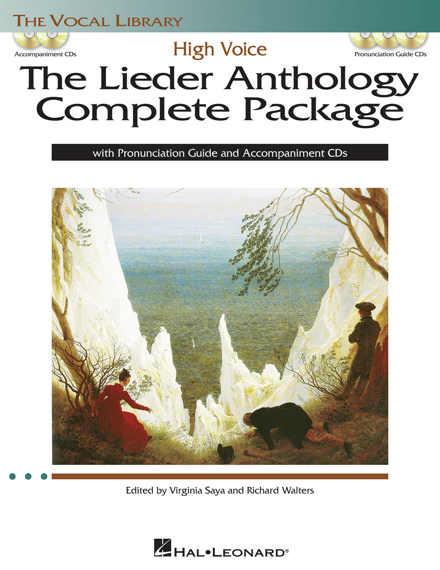 Product Cover for The Lieder Anthology Complete Package – High Voice