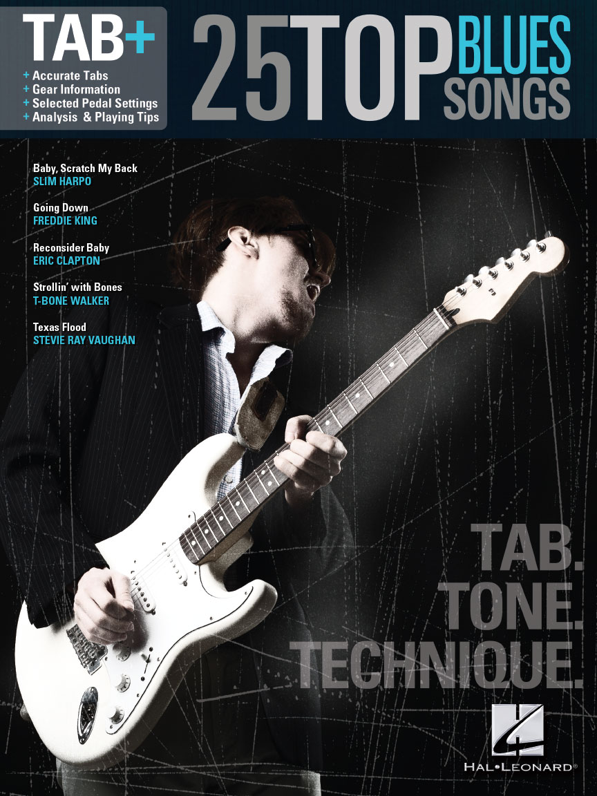 Product Cover for 25 Top Blues Songs – Tab. Tone. Technique.